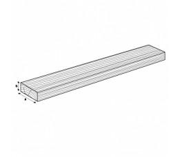 Teak plank 2mx4,5x1cm