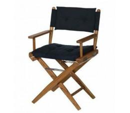 Reg. stoel, ongeolied, RVS