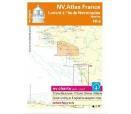 NV Atlas Frankrijk FR 6 - Lorient à Iles Noirmontiers & Nantes