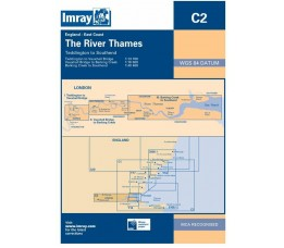 Imray C 2 - River Thames-Teddington to Southend