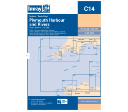 Imray C 14 - Plymouth Harbours and Rivers