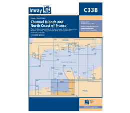 Imray C 33B - Channel Islands and North coast of France