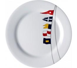 12001 - Regata Round Flat Plate  - 6 u.