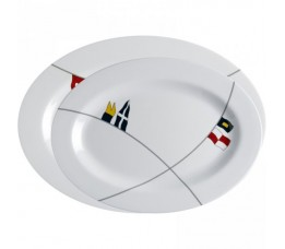 12009 - Regata Oval Serving Platters - 1 set (2 pcs.)