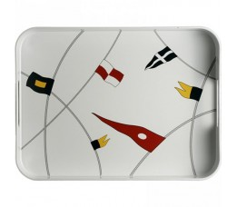 12012 - Regata Rectangular Tray - 1 pc.