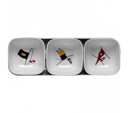 12013 - Regata Snacks Set  - 1 set (4 pcs.)