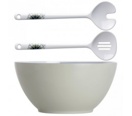 29008 - Oceans Salad Bowl + Serve Cutlery - 1 set
