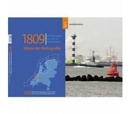 HydroGrafische kaart 1809 Nieuwe Waterweg 2019