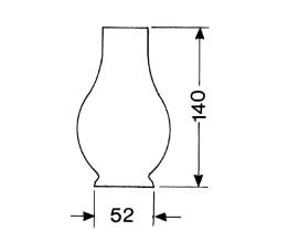 LAMPEGLAS 1 LIGNE X 140MM