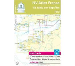 NV Atlas Frankrijk FR 3 -  St. Malo à Les Sept Iles