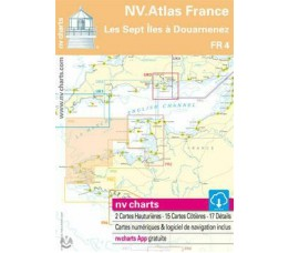NV Atlas Frankrijk FR 4 - Les Sept Iles à Douarnenez