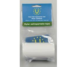 Mylar zeilrep.tape 100mmx 3m,transparant
